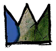 "Basquiat ""King of Adelaide Australia"" Photographic Print"