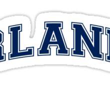 I Love Orlando - University Sticker
