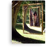 The Gallery in the Wood Canvas Print