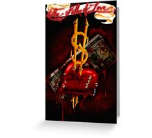 """""""The Killer of Love"""" Greeting Card"""