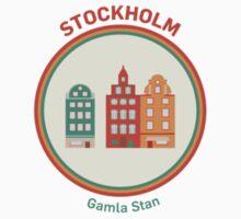 Välkommen till Stockholm! Kids Tee