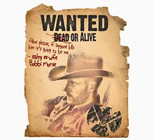Cowboy Lance Hunter Wanted Unisex T-Shirt