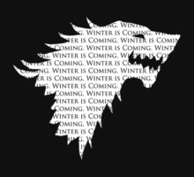 "House Stark ""Winter is Coming"" by VolcanoWear"