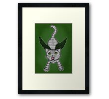 No Hope for Tweetie... Framed Print