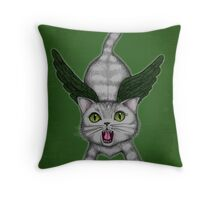 No Hope for Tweetie... Throw Pillow