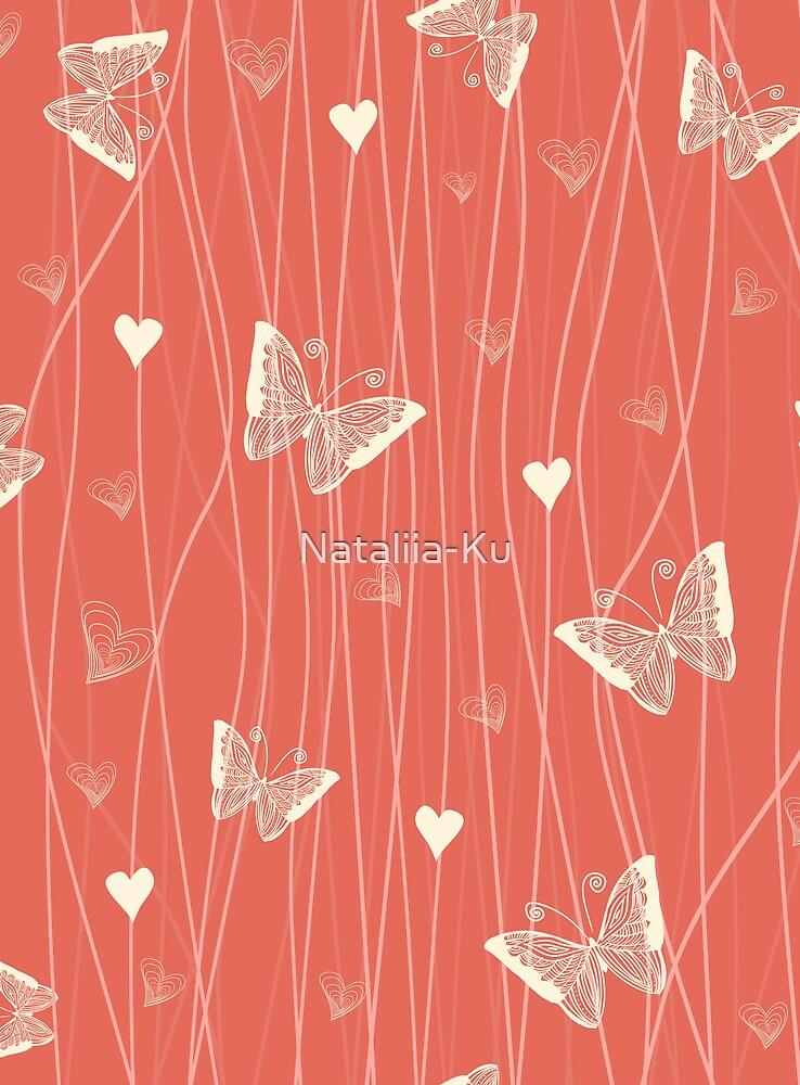 Cute butterflies by Nataliia-Ku