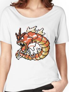 Red Gyarados Retro Women's Relaxed Fit T-Shirt
