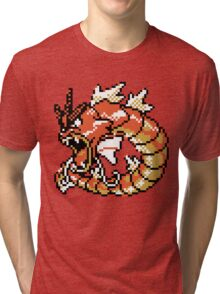Red Gyarados Retro Tri-blend T-Shirt