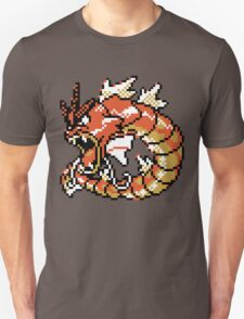 Red Gyarados Retro T-Shirt