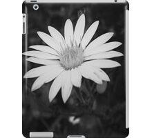 Monochrome Bloom iPad Case/Skin