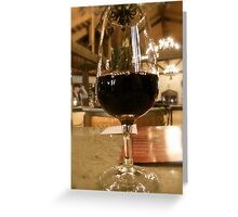 Long Island Vineyard Greeting Card
