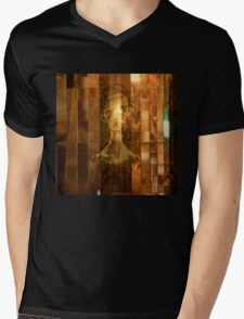 Golden Comfort Mens V-Neck T-Shirt