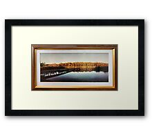 Thirlmere Lakes - in the early 1970s Framed Print