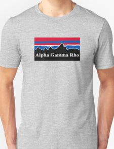 Alpha Gamma Rho Red White and Blue T-Shirt