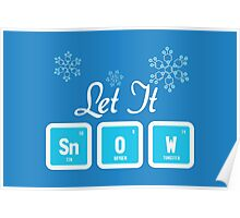 Let It Snow Science Poster
