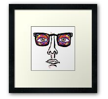 Glasses Framed Print