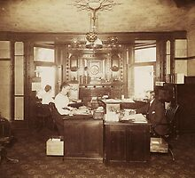 The Office ~ Buffalo, NY, 1901 by artwhiz47
