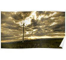 Caton-Moor Windfarm Poster