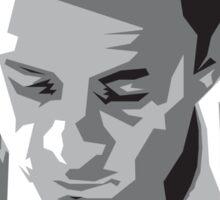 Grayscale Johnny Cash Sticker