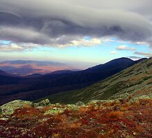 Clouds Paint the Presidentials by Wayne King