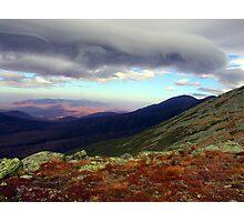 Clouds Paint the Presidentials Photographic Print