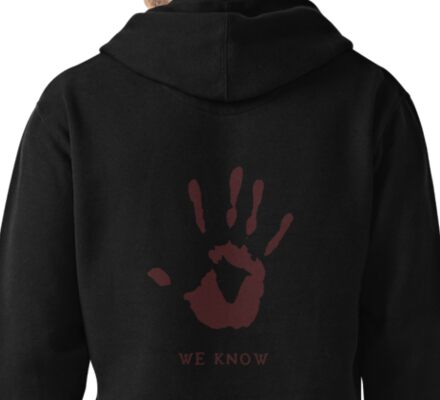 Dark brotherhood - We know Pullover Hoodie