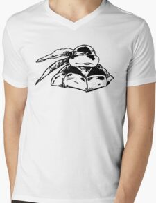 Raphael Standing Guard Mens V-Neck T-Shirt
