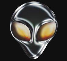 Metal Alien Head by mdkgraphics