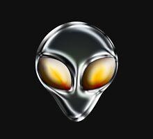 Metal Alien Head T-Shirt
