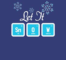 Let It Snow Science Womens Fitted T-Shirt
