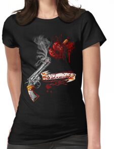 """Betrayal"" Womens Fitted T-Shirt"