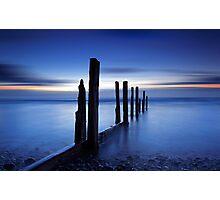 Blue Tide Photographic Print