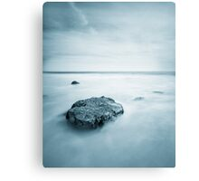 Silky Smooth Sea Canvas Print