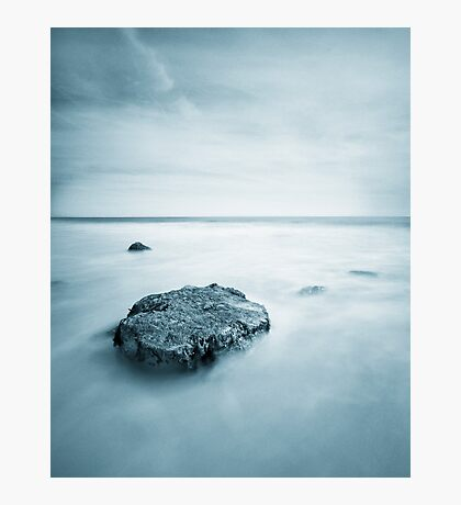 Silky Smooth Sea Photographic Print