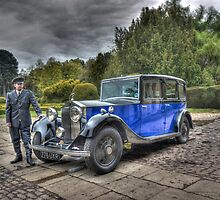 Rolls Royce 1934 20/25 Windovers Limousine (#GLB8) by rolandkeates