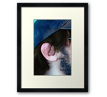 Give Every Man Thy Ear, but Few Thy Voice (Shakespeare) Framed Print