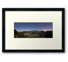 Leg of Mutton Fog Framed Print