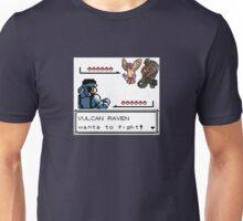 Metal Gear Pokemon - Vulcan Raven Unisex T-Shirt