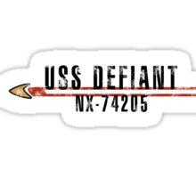 """Star Trek """"USS Defiant"""" Insignia Sticker"""