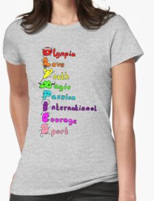 Olympic T-shirt Womens Fitted T-Shirt