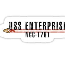 "Star Trek ""USS Enterprise"" Insignia Sticker"