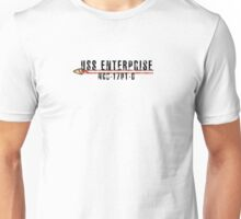 "Star Trek ""USS Enterprise  - D"" Insignia Unisex T-Shirt"