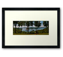 Arkansas Panorama. One Amazing Place Framed Print