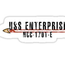 "Star Trek ""USS Enterprise  - E"" Insignia Sticker"