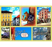 Füssen Collage Photographic Print