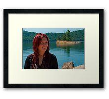 An Arkansas Smile Framed Print
