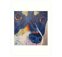 Woof 3 Art Print