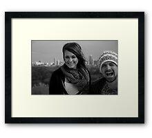 A Fun Duo  Framed Print