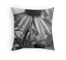 Purple Cone Flowers Throw Pillow