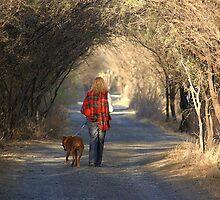 going for a walk by ezdrifter